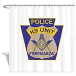 K9 Corps Masons Shower Curtain