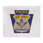 K9 Corps Masons Throw Blanket