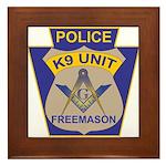 K9 Corps Masons Framed Tile