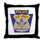 K9 Corps Masons Throw Pillow