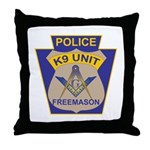 K9 Corps Masons Throw Pillow