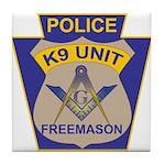 K9 Corps Masons Tile Coaster