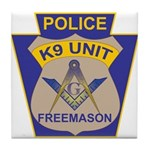 K9 Corps Masons Tile Coaster