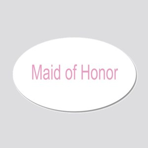 Maid of Honor Gifts 22x14 Oval Wall Peel