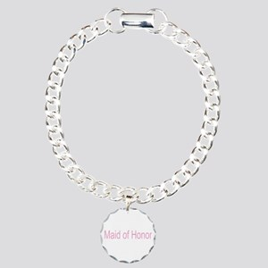 Maid of Honor Gifts Charm Bracelet, One Charm