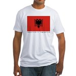 Albania Fitted T-Shirt