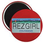 Colorado Rez Girl Magnet