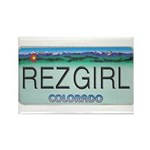 Colorado Rez Girl Rectangle Magnet (100 pack)