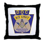 D. O. C. K9 Corps Throw Pillow
