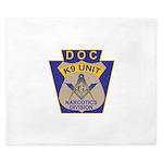 D. O. C. K9 Corps King Duvet
