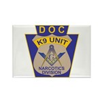 D. O. C. K9 Corps Rectangle Magnet (100 pack)