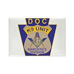 D. O. C. K9 Corps Rectangle Magnet