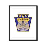 D. O. C. K9 Corps Framed Panel Print