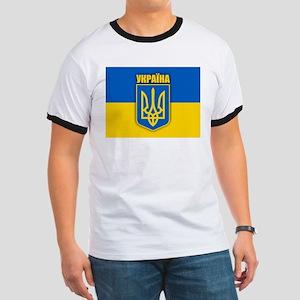 """""""Ukraine Pride"""" Ringer T"""