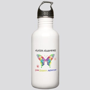 Autism Awareness Butte Stainless Water Bottle 1.0L