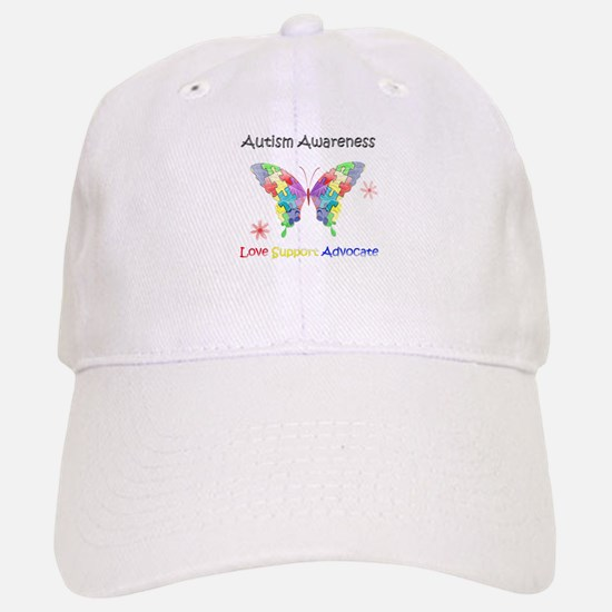 Autism Awareness Butterfly Baseball Baseball Cap