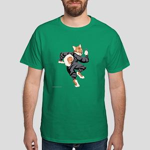 Shiba Inu Ninja Dark T-Shirt