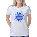 friend_of_sinners_white Women's Classic T-Shirt