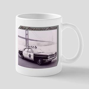 San Francisco Police Car Mug