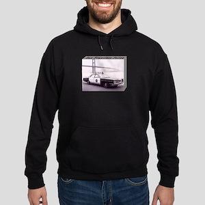 San Francisco Police Car Hoodie (dark)