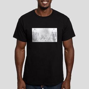 El Morro Skyline Men's Fitted T-Shirt (dark)
