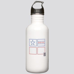Flags Stainless Water Bottle 1.0L