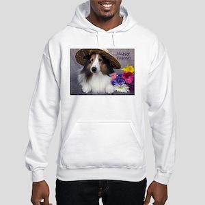 Happy Easter Hooded Sweatshirt