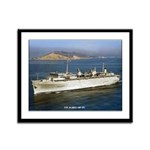 USS ACADIA Framed Panel Print