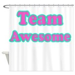 Team Awesome Shower Curtain