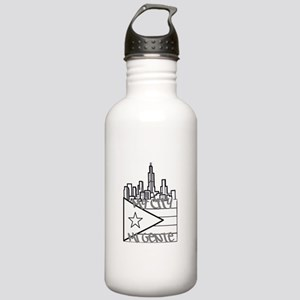McMg Logo grey Stainless Water Bottle 1.0L