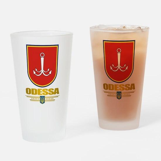 """Odessa"" Drinking Glass"