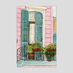 New Orleans Door Mini Poster Print