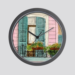 New Orleans Door Wall Clock