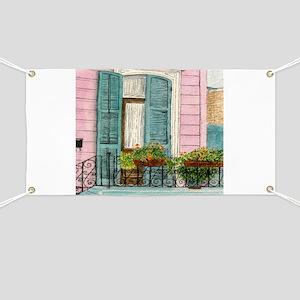 New Orleans Door Banner