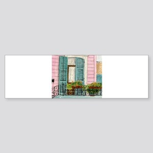 New Orleans Door Sticker (Bumper)