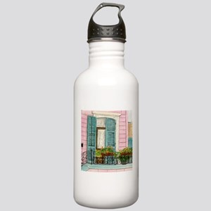 New Orleans Door Stainless Water Bottle 1.0L