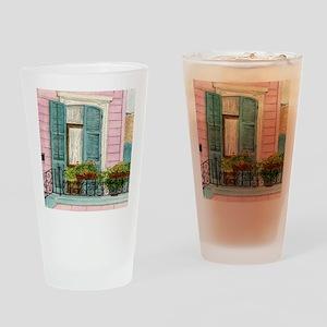 New Orleans Door Drinking Glass