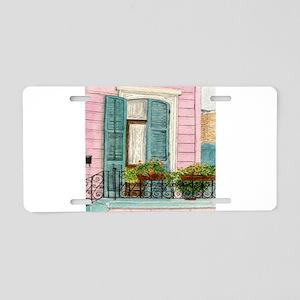 New Orleans Door Aluminum License Plate