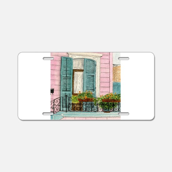 New Orleans Door Aluminum License Plate