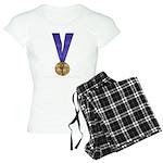 Skater Gold Medal Women's Light Pajamas