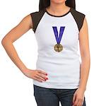 Skater Gold Medal Women's Cap Sleeve T-Shirt