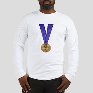 Skater Gold Medal Long Sleeve T-Shirt