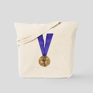 Skater Gold Medal Tote Bag