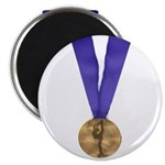 Skater Gold Medal Magnet