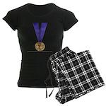 Skater Gold Medal Women's Dark Pajamas