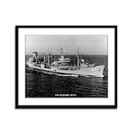 USS ALLAGASH Framed Panel Print