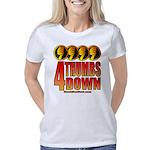 4 Thumbs Down Women's Classic T-Shirt
