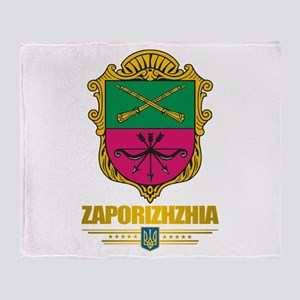 """Zaporizhzhia"" Throw Blanket"