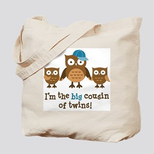 Big Cousin of Twins - Mod Owl Tote Bag