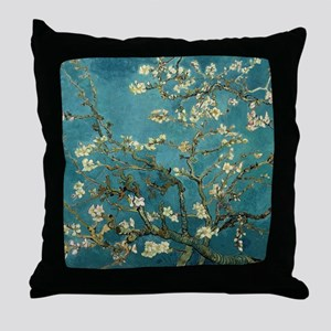 Van Gogh Almond Branches In Bloom Throw Pillow